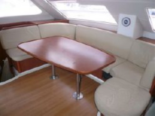 Preowned Sail Catamarans for Sale 2007 Leopard 46  Layout & Accommodations